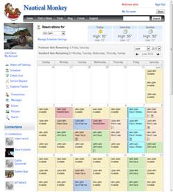 Scheduler Page