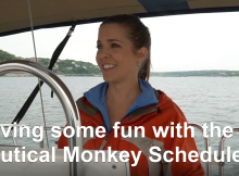 Nautical Monkey Scheduler