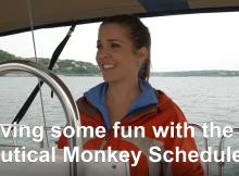 Nautical Monkey Scheduler